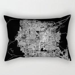 Las Vegas map Rectangular Pillow