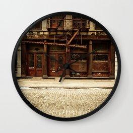Greene Street SoHo Wall Clock