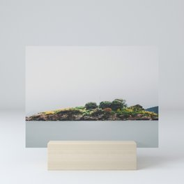 Lonely island Mini Art Print