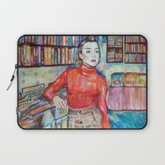 Russian Red, Singer, painting, illustration, art pop Laptop Sleeve