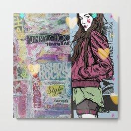 Teenage Attitude Metal Print