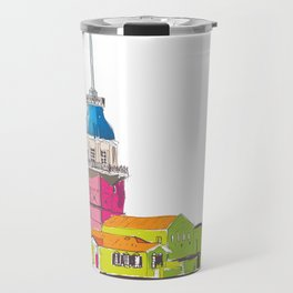 Maiden's Tower, Istanbul Travel Mug
