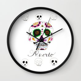 Muerto Wall Clock