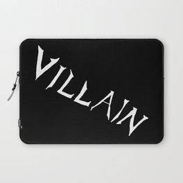 Villain in Black Laptop Sleeve