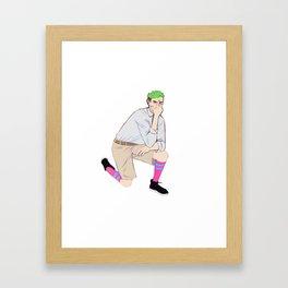 JackSepticEye Framed Art Print