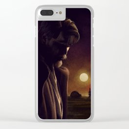 I will watch over the boy Clear iPhone Case