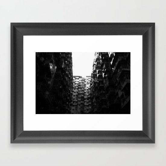 :: Hong Kong Flats :: Framed Art Print