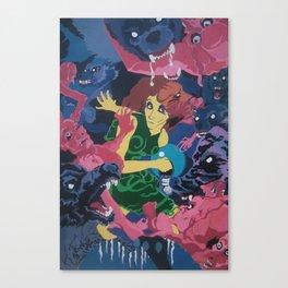Circle of Death Canvas Print