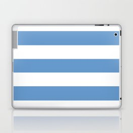Livid - solid color - white stripes pattern Laptop & iPad Skin