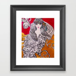 ECLIPSE #society6 #decor #buyart Framed Art Print