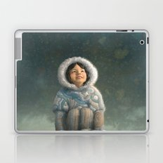 Winter Girl Laptop & iPad Skin