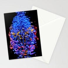 Liquid Neon Stationery Cards