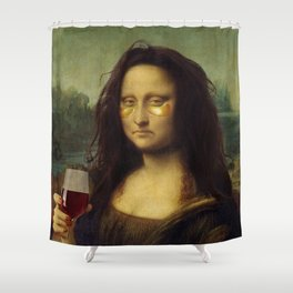 Monday Lisa Shower Curtain