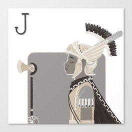 Jack A. Canvas Print