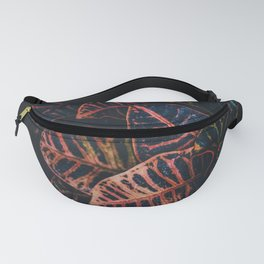 Dark Leaves - Nature Photography Fanny Pack
