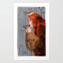 Late November II Art Print