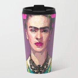 Trendy Frida Kahlo Travel Mug