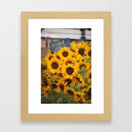 Market 2 Framed Art Print