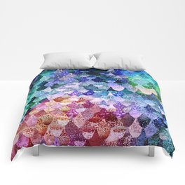 REALLY MERMAID FUNKY Comforters