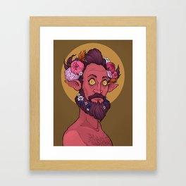 Goddamn hipster boys Framed Art Print