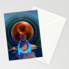 Neon Lake Stationery Cards