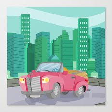 CAR (GROUND VEHICLES) Canvas Print