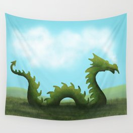 Dreams Of A Dragon Wall Tapestry
