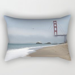 Another Foggy Day In San Francisco Rectangular Pillow