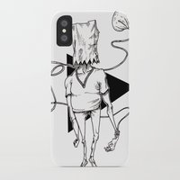 tote bag iPhone & iPod Cases featuring Bag by Hopler Art