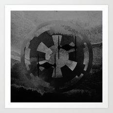 Star Wars Imperial Tie Fighters in Gray Art Print