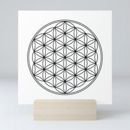Flower of life  Mini Art Print