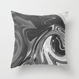 SHACKLE - BLACK Throw Pillow