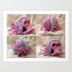 Bonnie's Fourhead Art Print