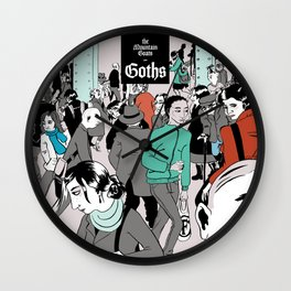 The Mountain Goats - Goths Wall Clock