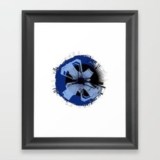 inner circle Framed Art Print