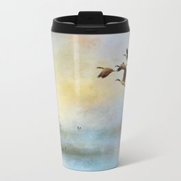 Lighthouse Bay II Metal Travel Mug