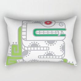 Koru-Fern Serpent Rectangular Pillow