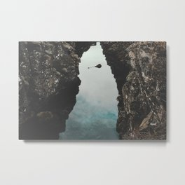 I left my heart in Iceland - landscape photography Metal Print