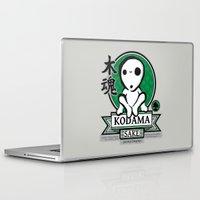 kodama Laptop & iPad Skins featuring Kodama Sake by adho1982