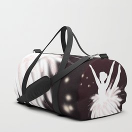 Space Ballerina (3 of 3) Duffle Bag
