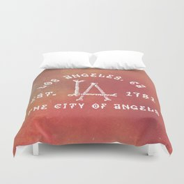 The City of Angels Duvet Cover
