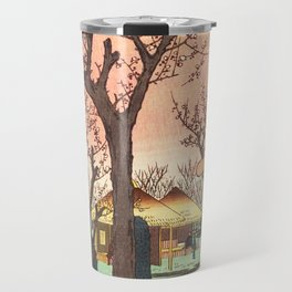 Plum Garden Travel Mug