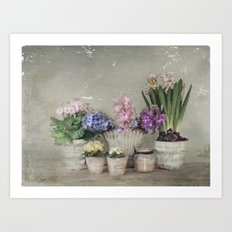 longing for springtime Art Print