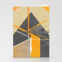 pyramid Stationery Cards featuring Pyramid by ErDavid