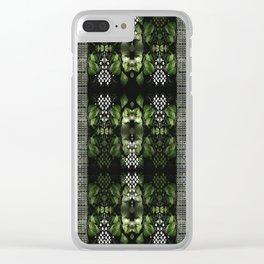Maidenhair & Moonbeams Clear iPhone Case