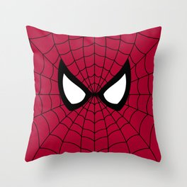 Spider man superhero Throw Pillow