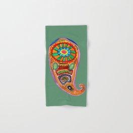 Colourful Paisley Hand & Bath Towel