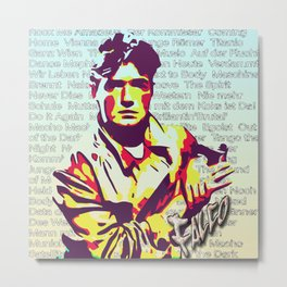 Falco Discography Metal Print