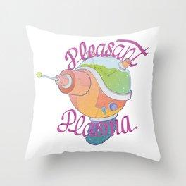 Pleasant Plasma Throw Pillow
