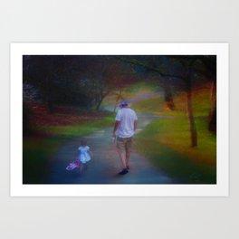 Together Time Art Print